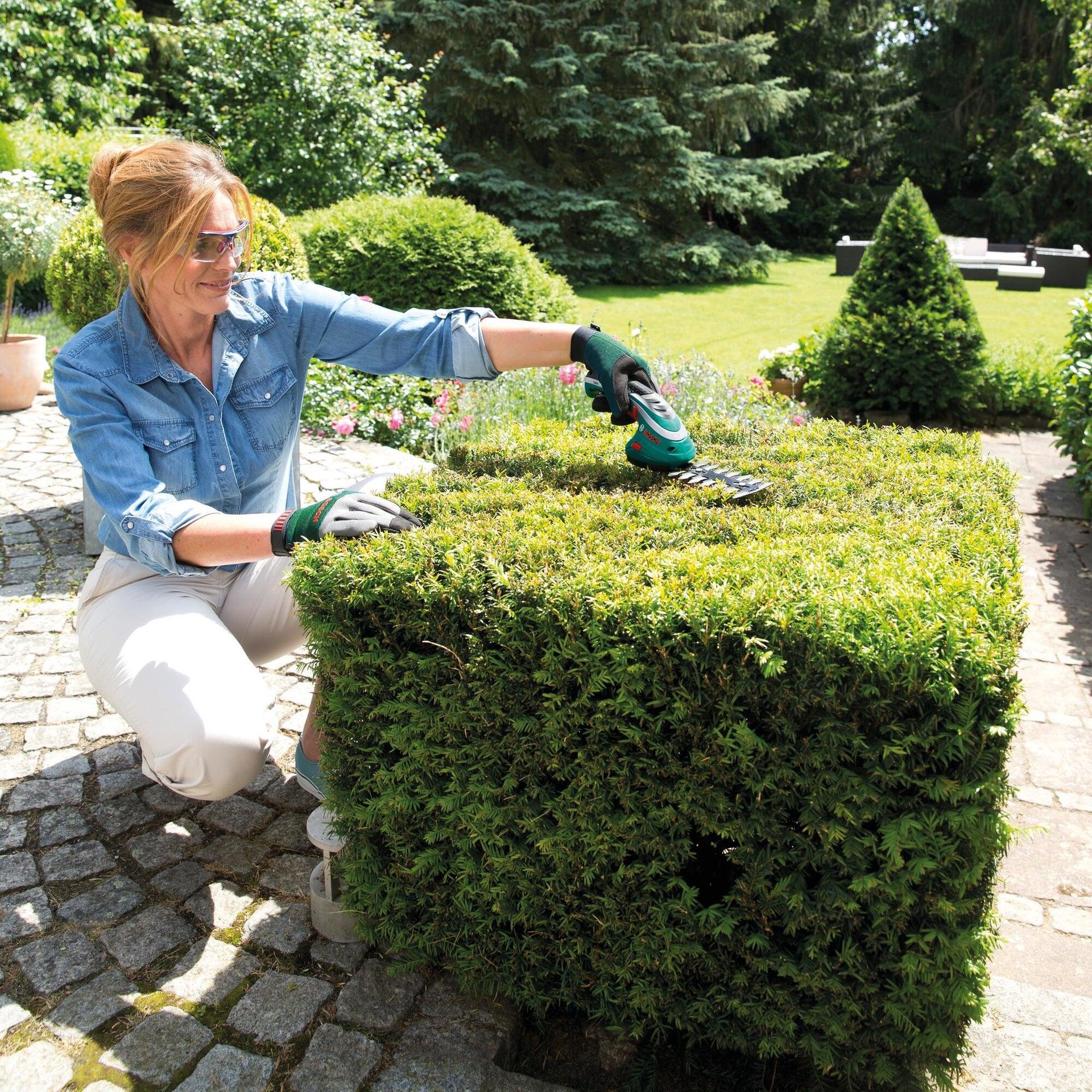 Forbici da giardino BOSCH Isio 3 doppia lama 8 cm - 3