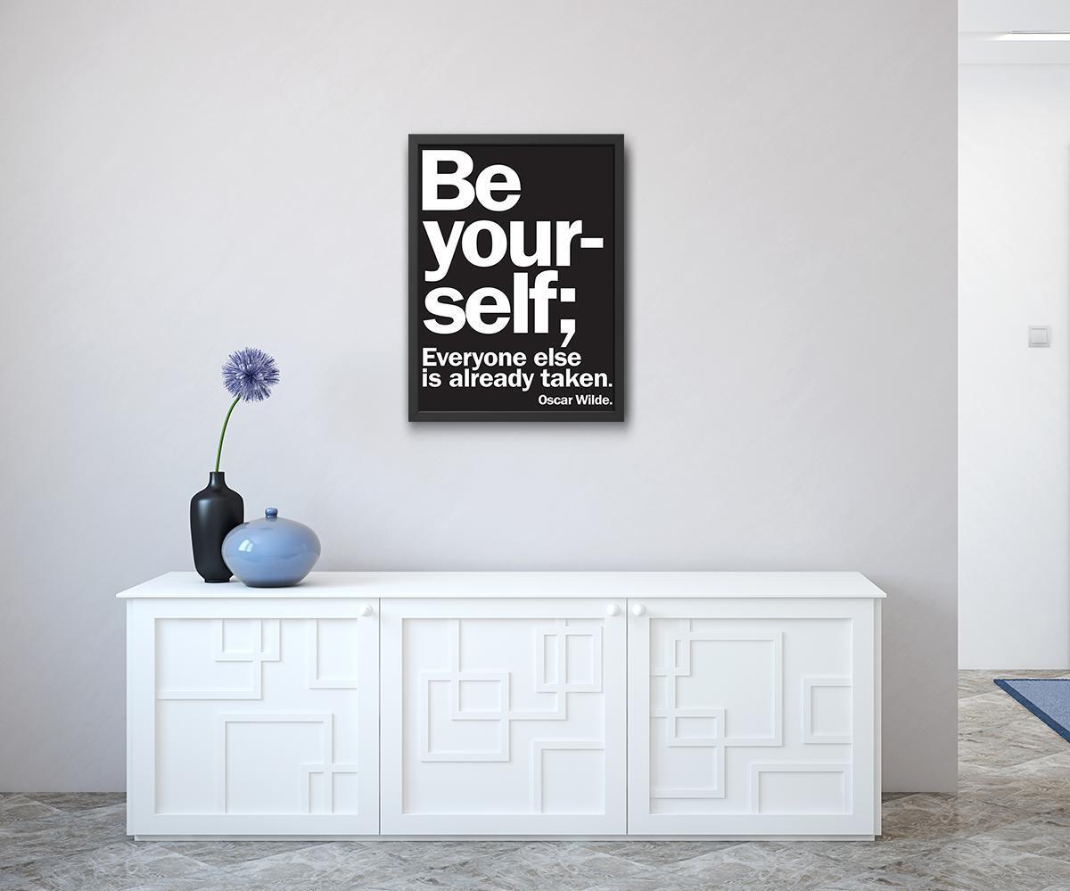 Stampa incorniciata Yourself 50x70 cm - 5