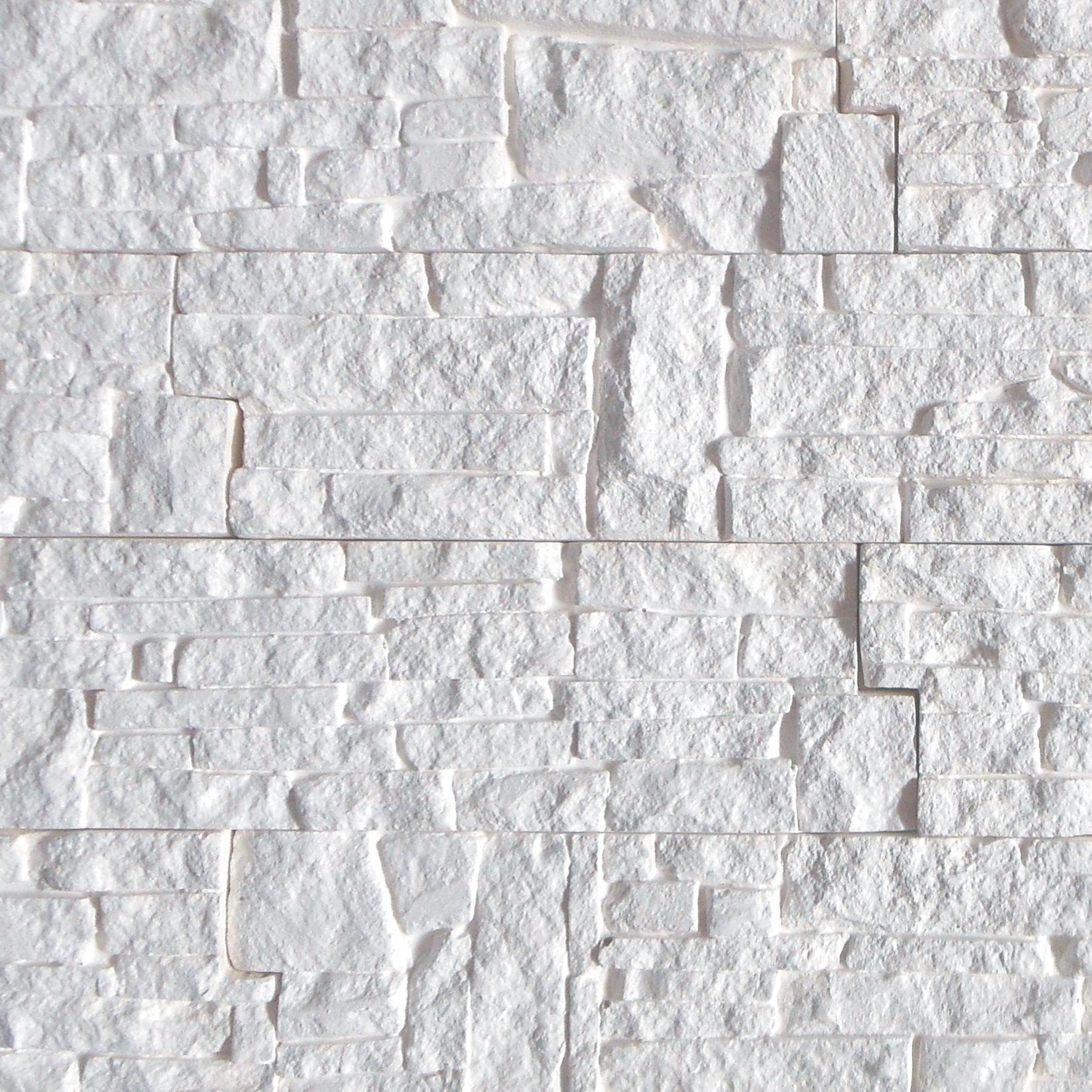 Rivestimento decorativo Chamonix bianco - 3
