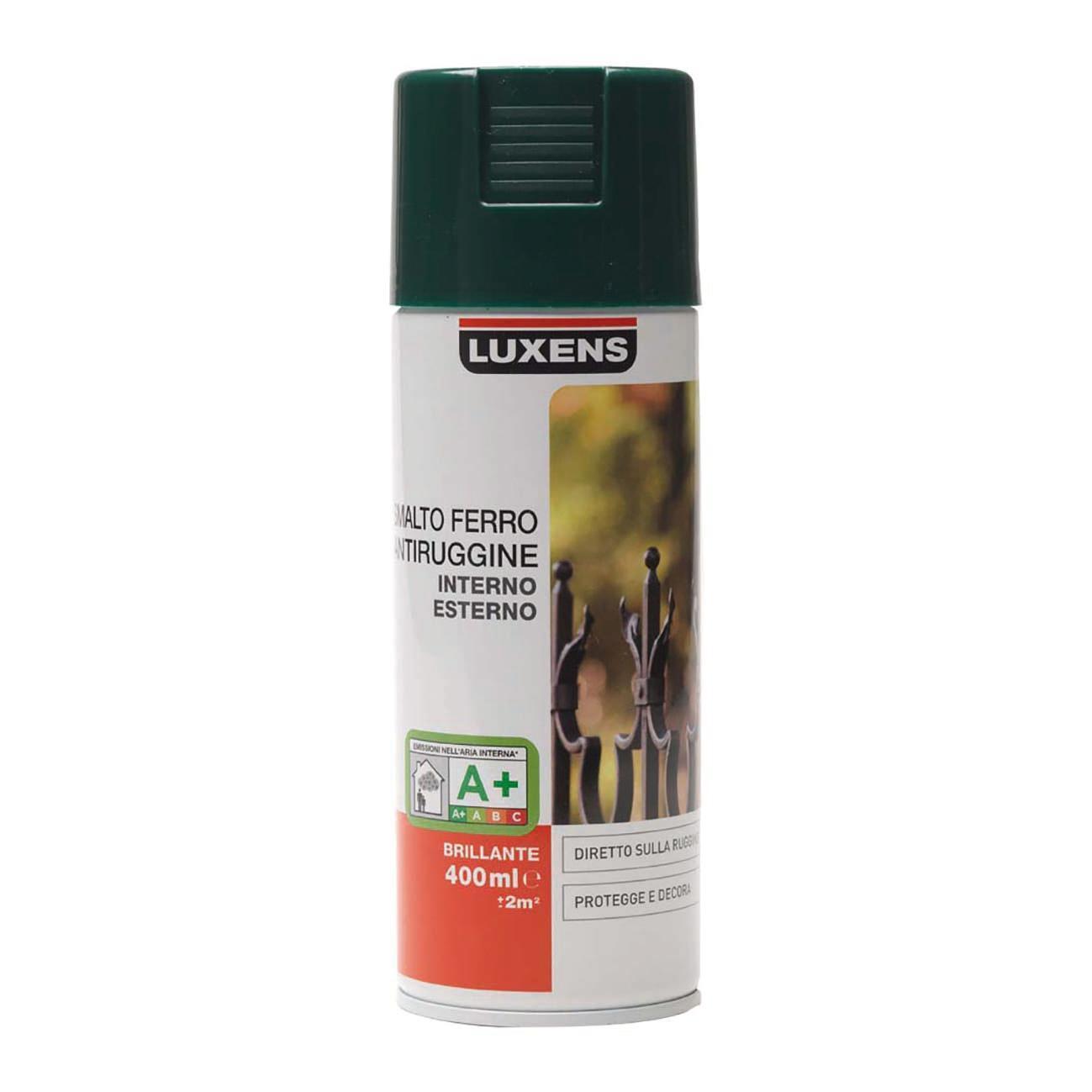 Smalto spray base solvente LUXENS 0.0075 L verde lucido - 2