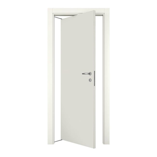 Porta rototraslante Word bianco laccato L 80 x H 210 cm sinistra - 1