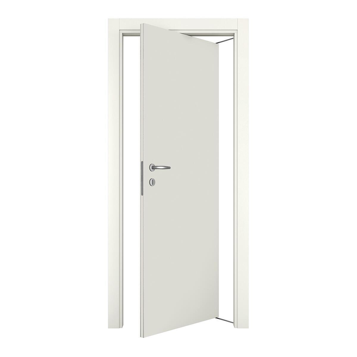 Porta rototraslante Word bianco laccato L 70 x H 210 cm destra