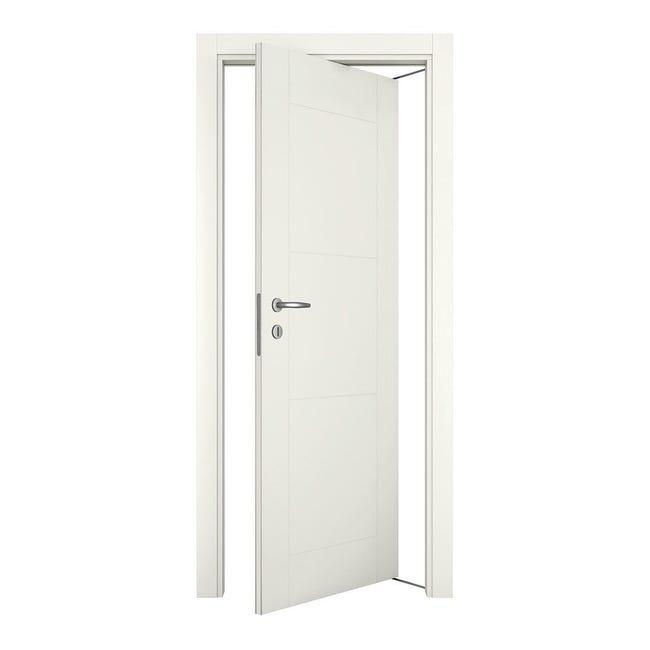 Porta rototraslante Mood bianco laccato L 70 x H 210 cm destra - 1