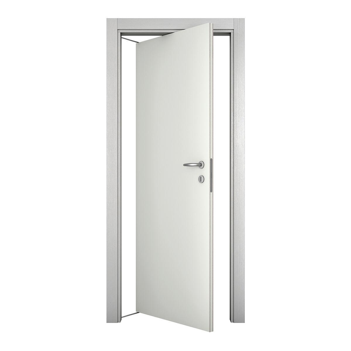 Porta rototraslante Bath bianco laccato L 70 x H 210 cm sinistra