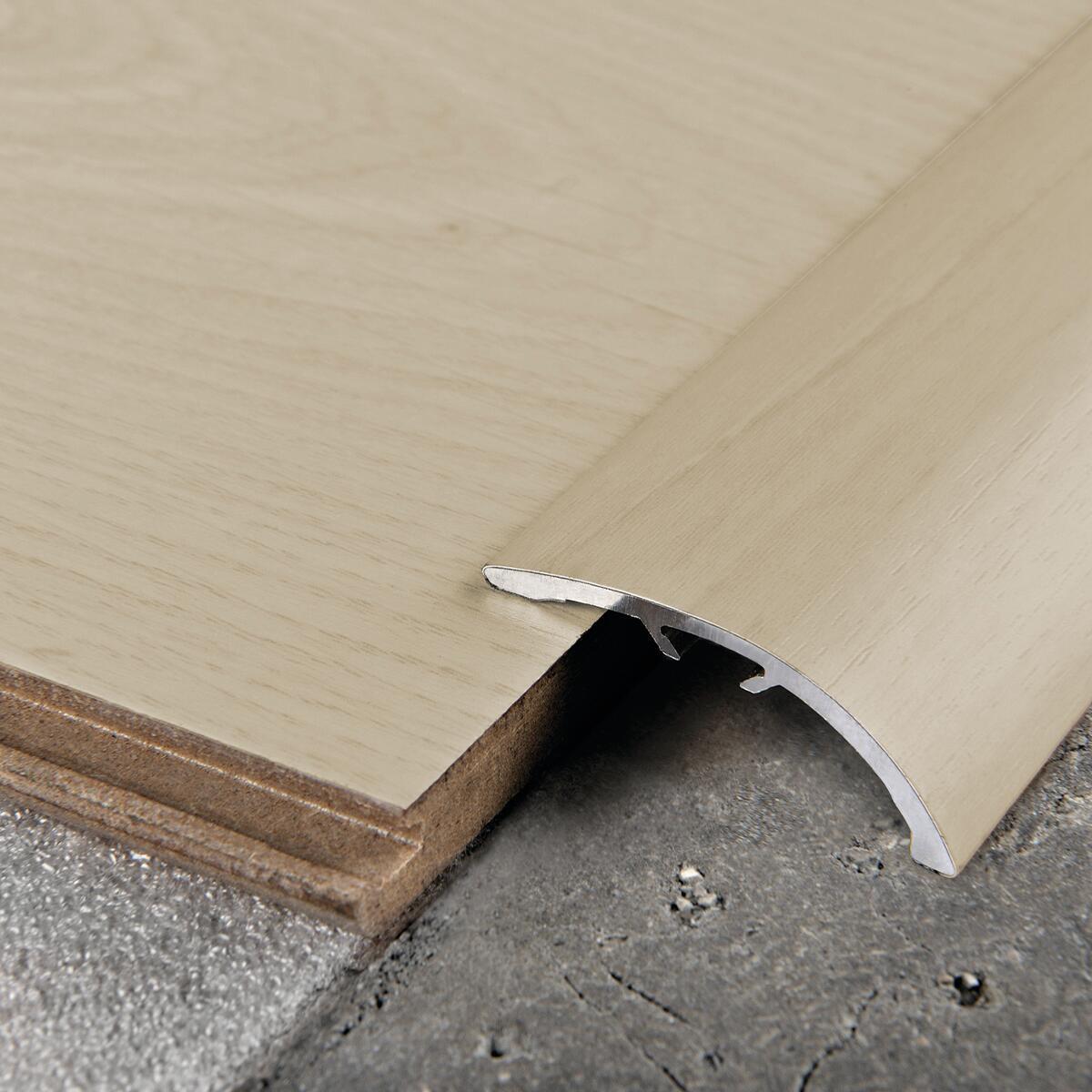 Soglia di dislivello rovere white 42 mm x 270 cm - 2