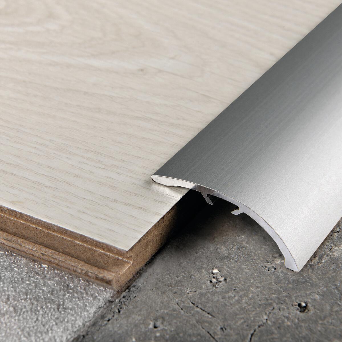 Soglia di dislivello argento 40 mm x 270 cm - 2