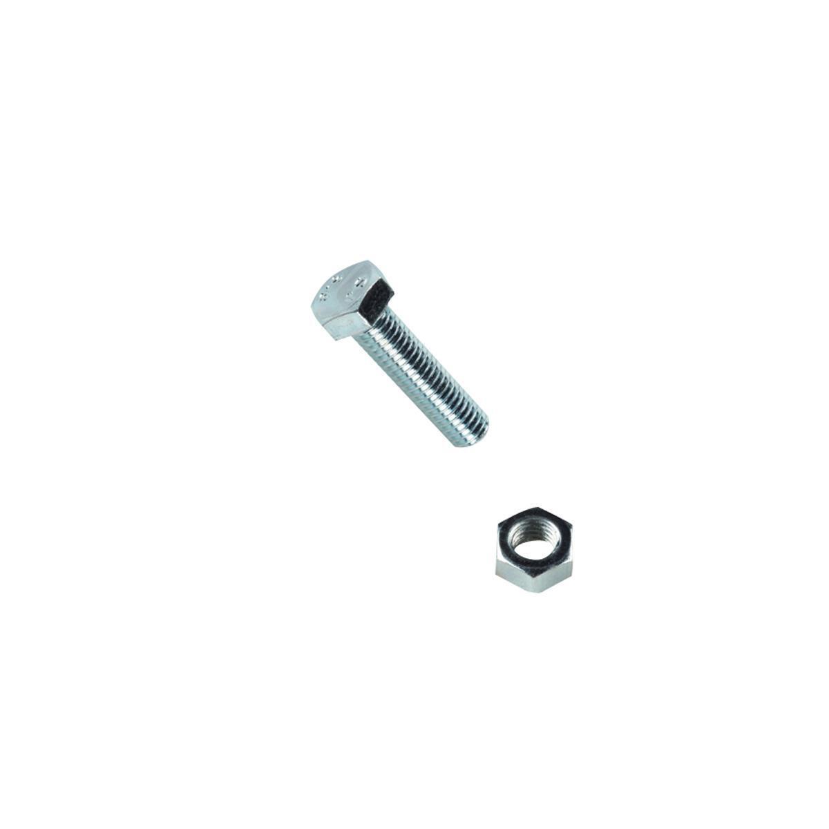 Bullone testa esagonale L 30 x Ø M6 mm, 8 pezzi - 1
