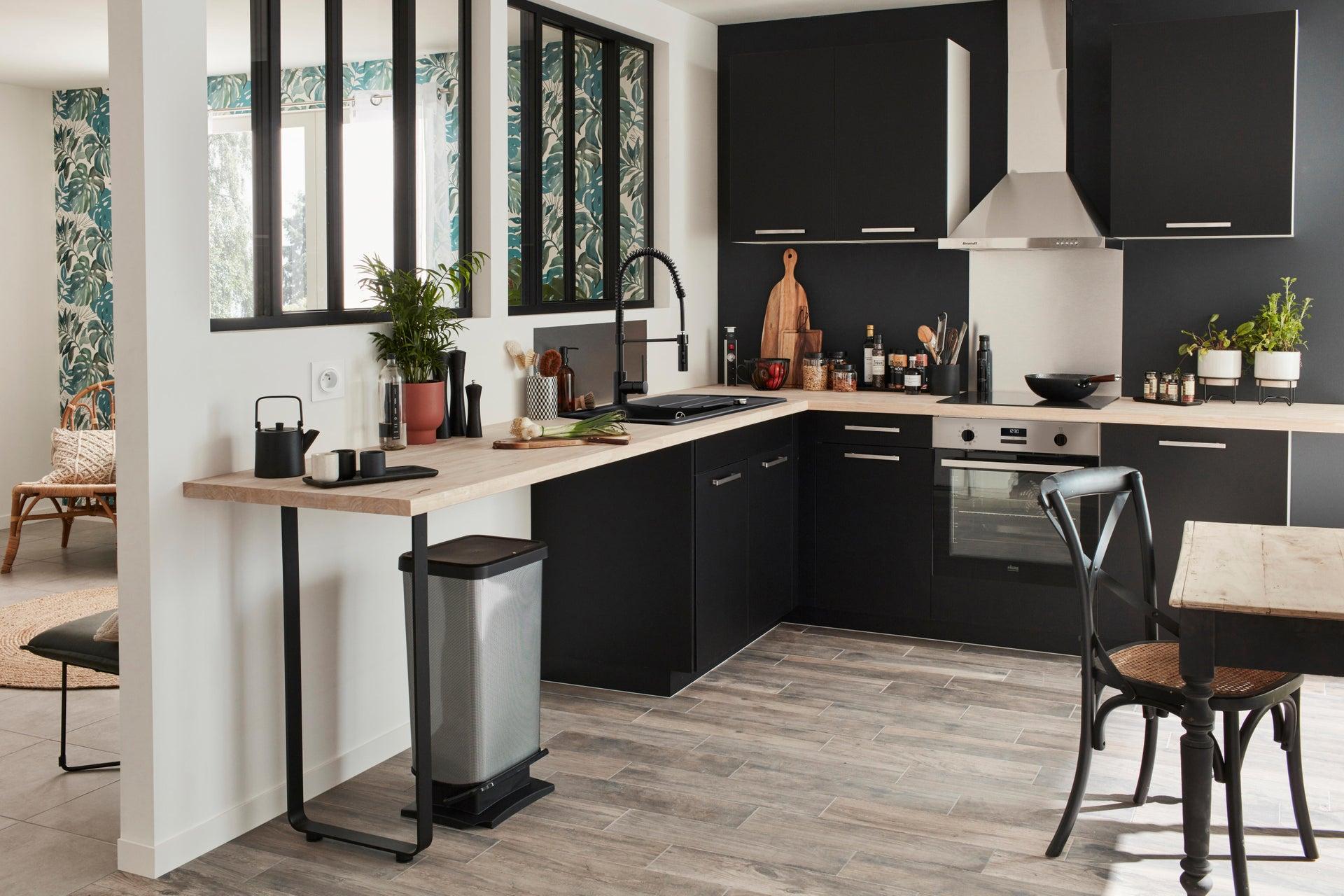 Miscelatore da cucina Thomas verniciato nero, DELINIA - 5