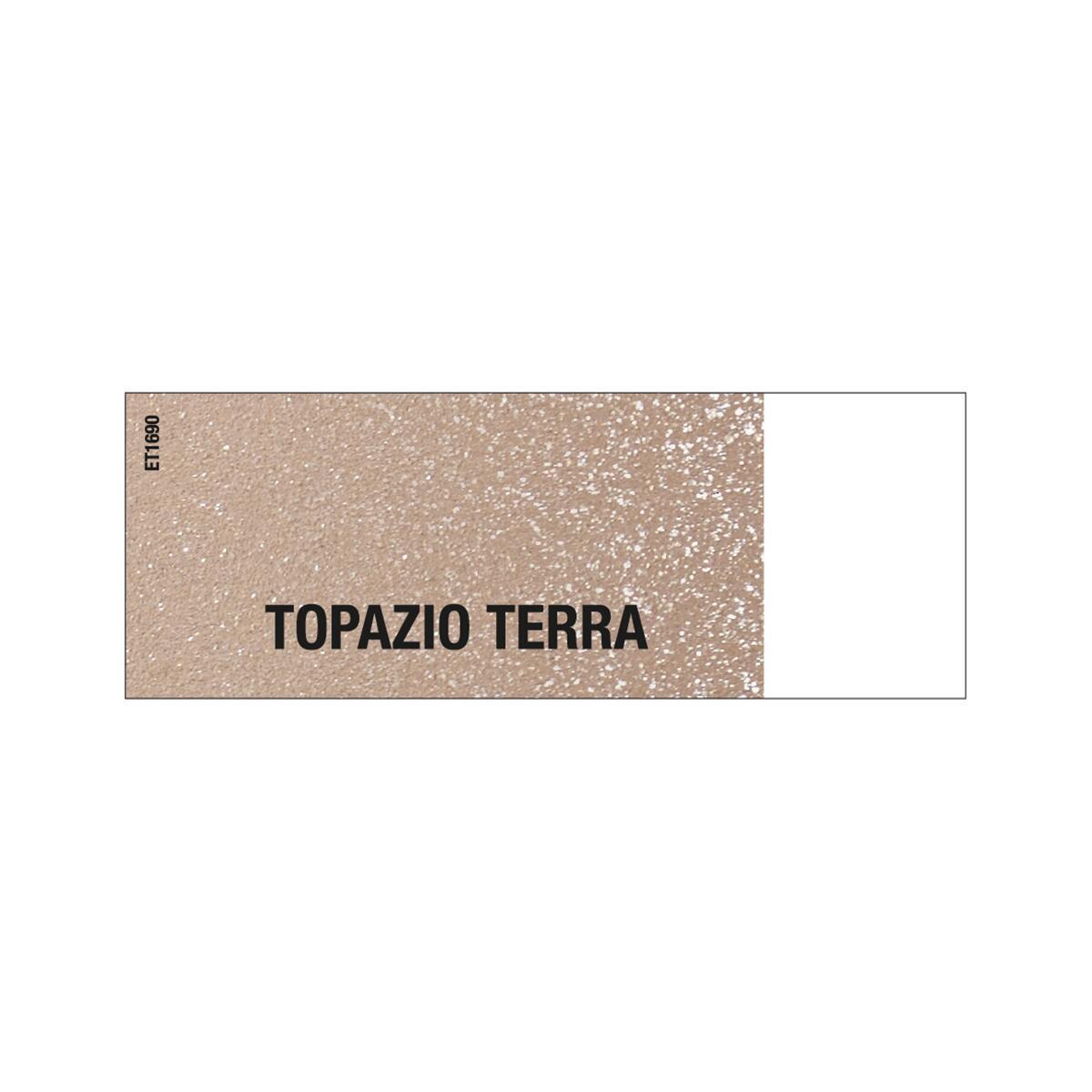 Pittura decorativa LUXENS EFFETTO METALLIZZATO ATERMICO 5 l topazio terra effetto metallo - 3