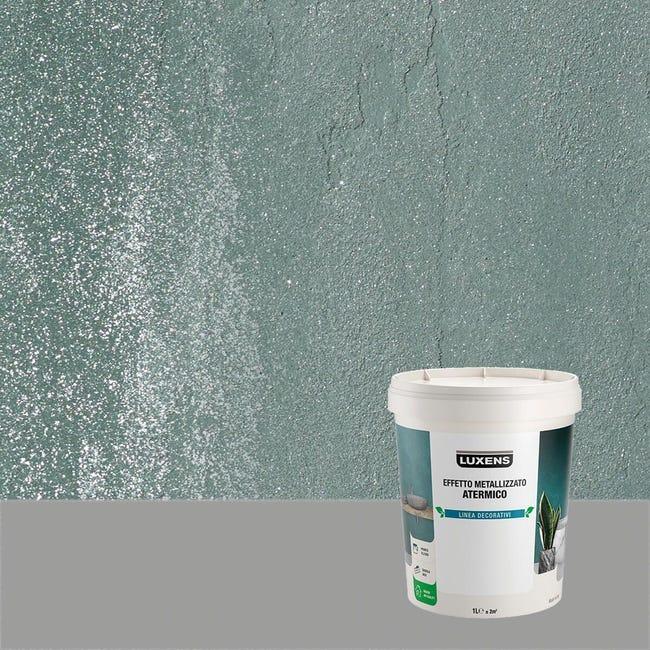 Pittura decorativa LUXENS EFFETTO METALLIZZATO ATERMICO 1 l giada verde effetto metallo - 1