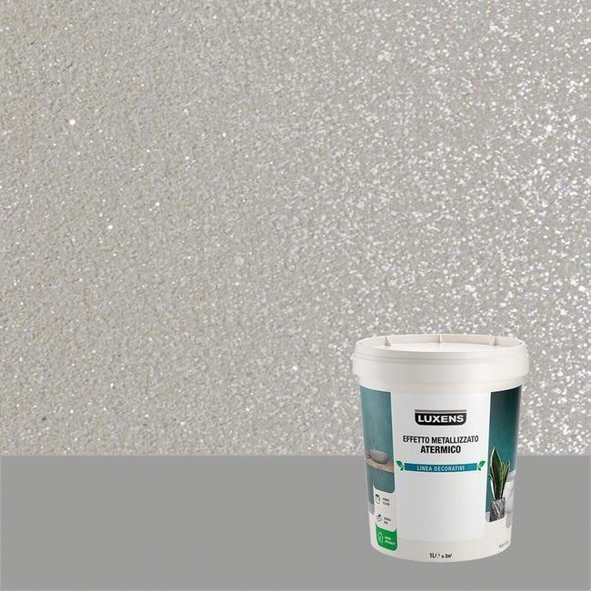 Pittura decorativa LUXENS EFFETTO METALLIZZATO ATERMICO 1 l quarzo fume effetto metallo - 1