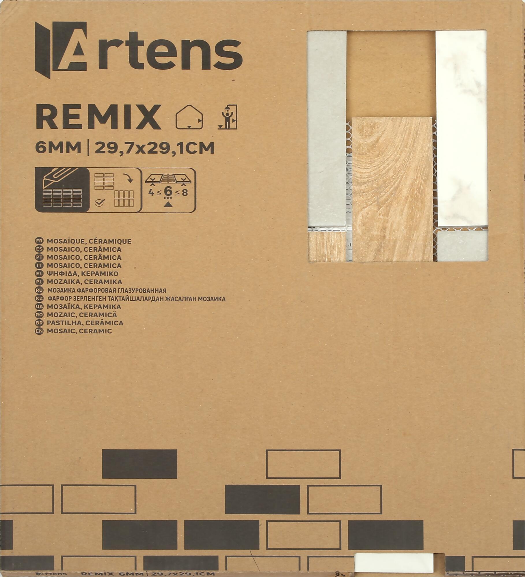 Mosaico Remix Mix H 0.6 x L 29.7 cm multicolore - 2