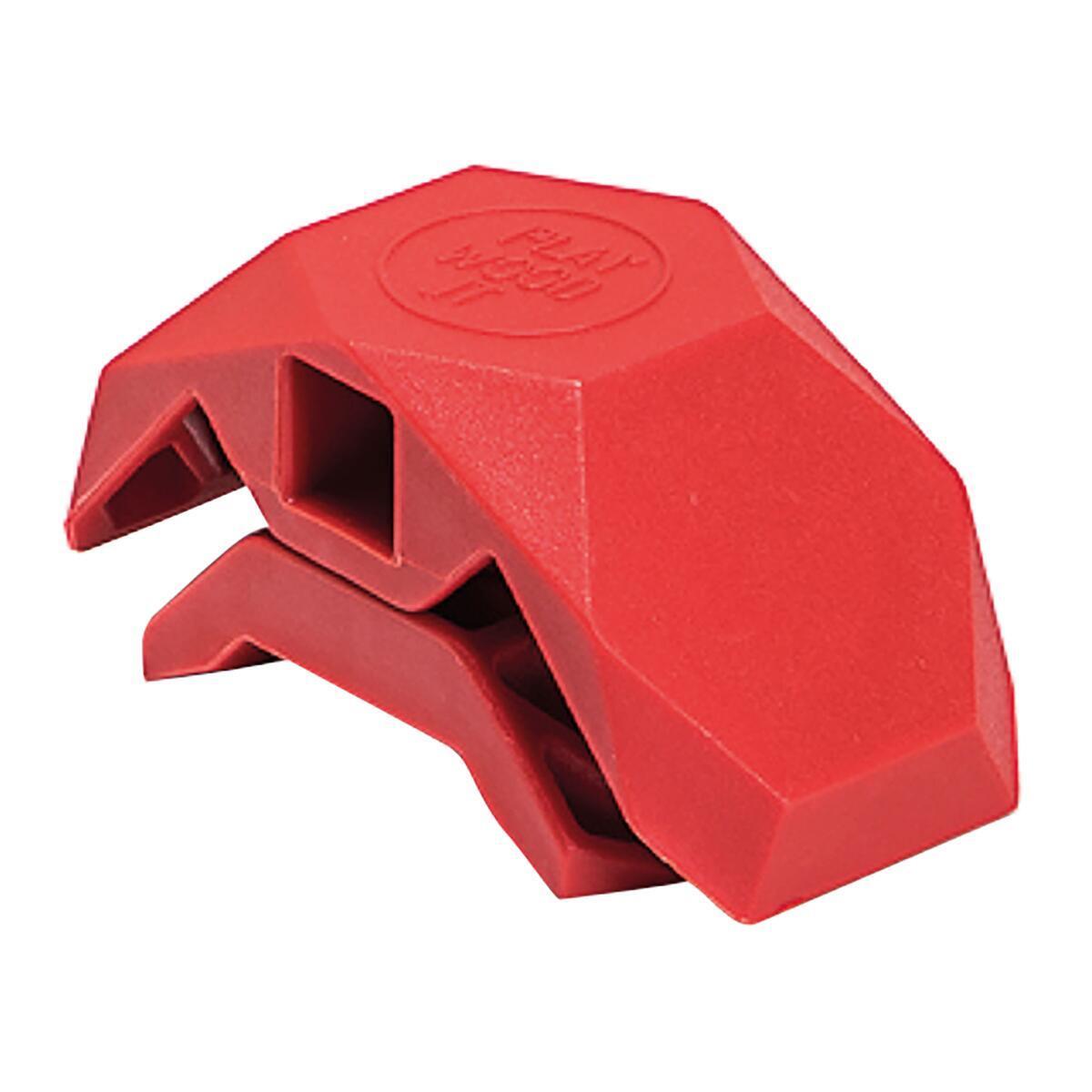 Sistema di assemblaggio PLAYWOOD 90° in pvc , rosso - 5