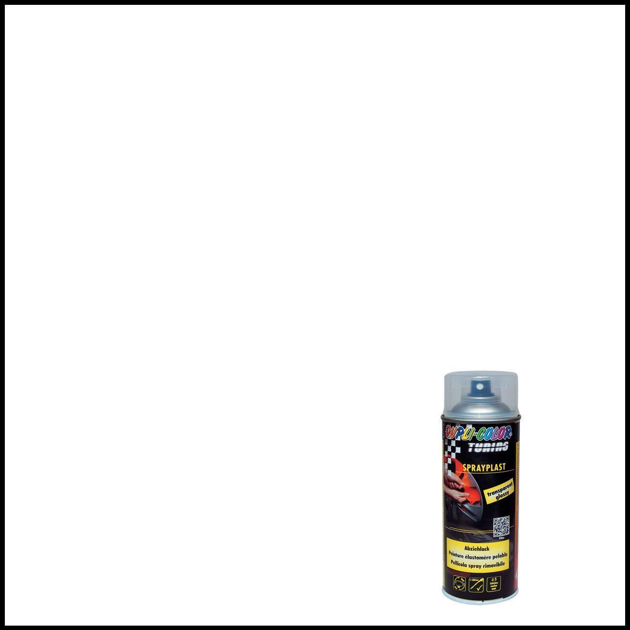 Smalto spray base solvente DUPLI COLOR Sprayplast 0.0075 L trasparente lucido - 1