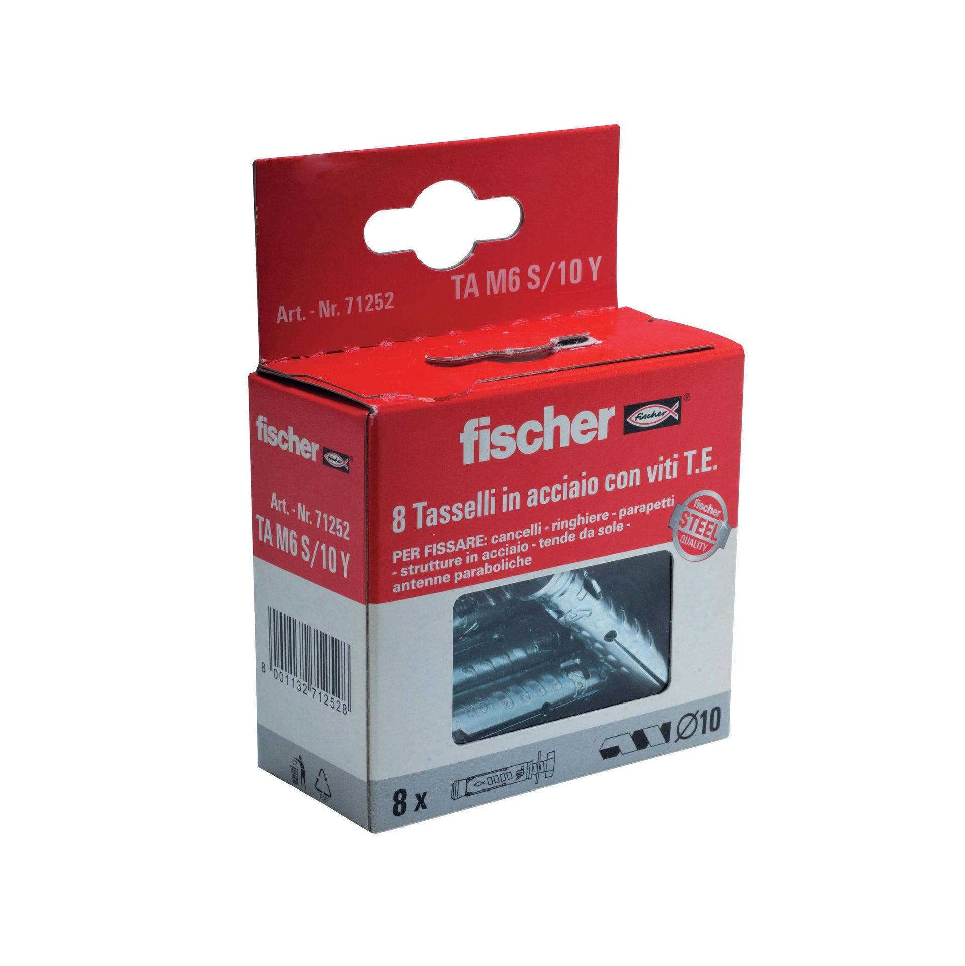 Tassello per materiale pieno FISCHER TAM , L 49 mm, Ø 6 mm, 8 pezzi - 2