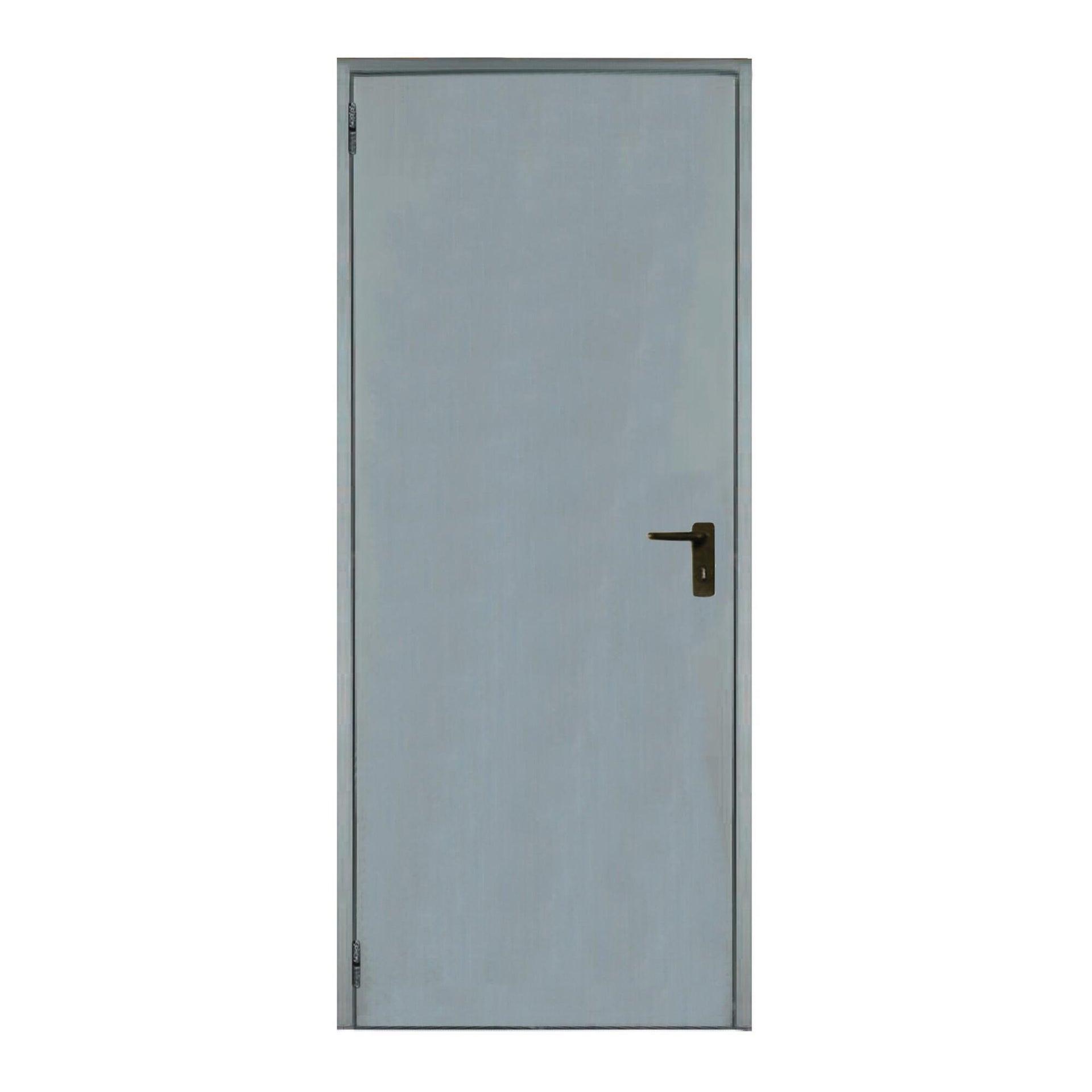 Porta per cantina lamiera L 72 x H 200 cm - 2