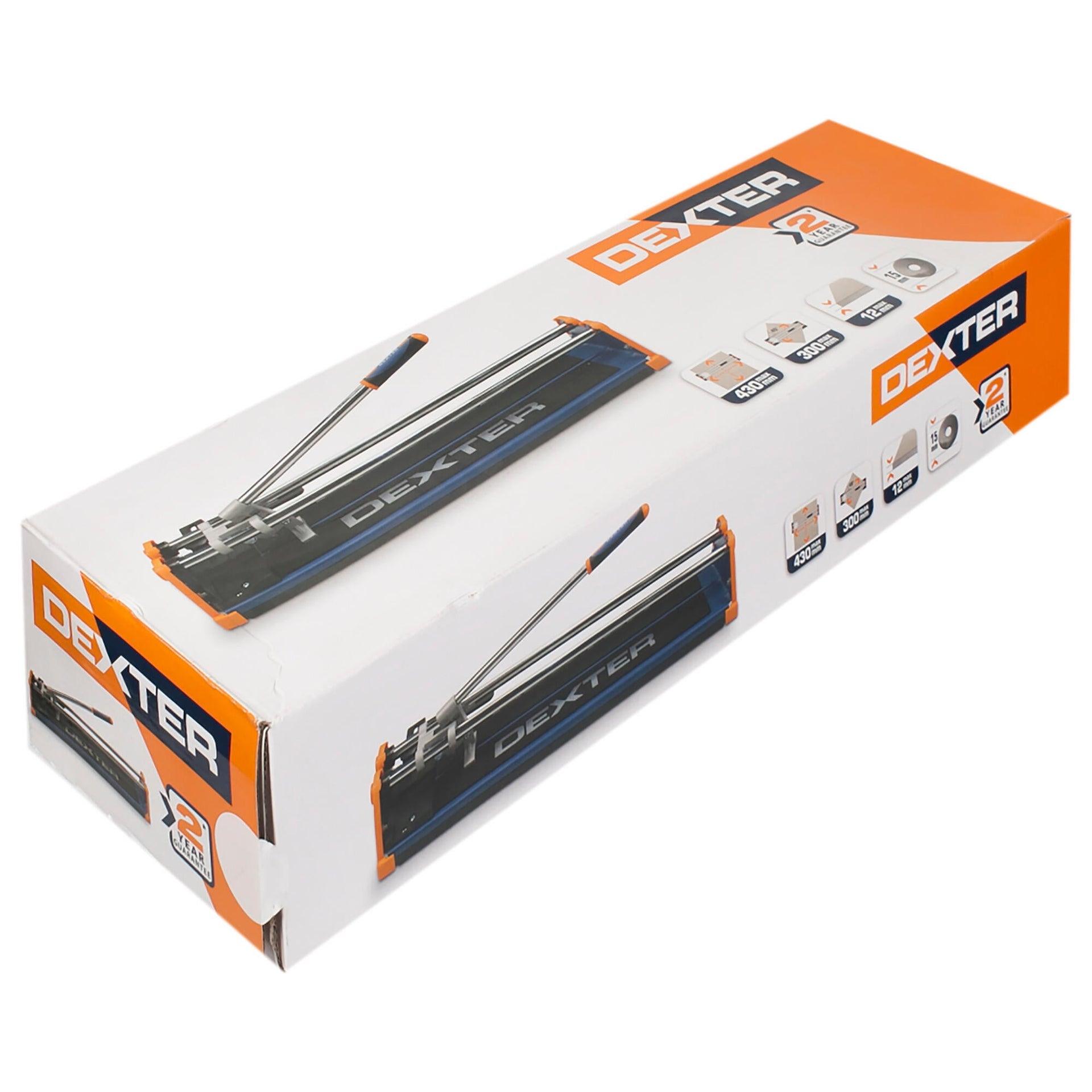 Tagliapiastrelle manuale DEXTER , lunghezza max taglio 430 mm - 4
