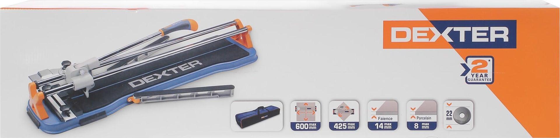 Tagliapiastrelle manuale DEXTER , lunghezza max taglio 600 mm - 6