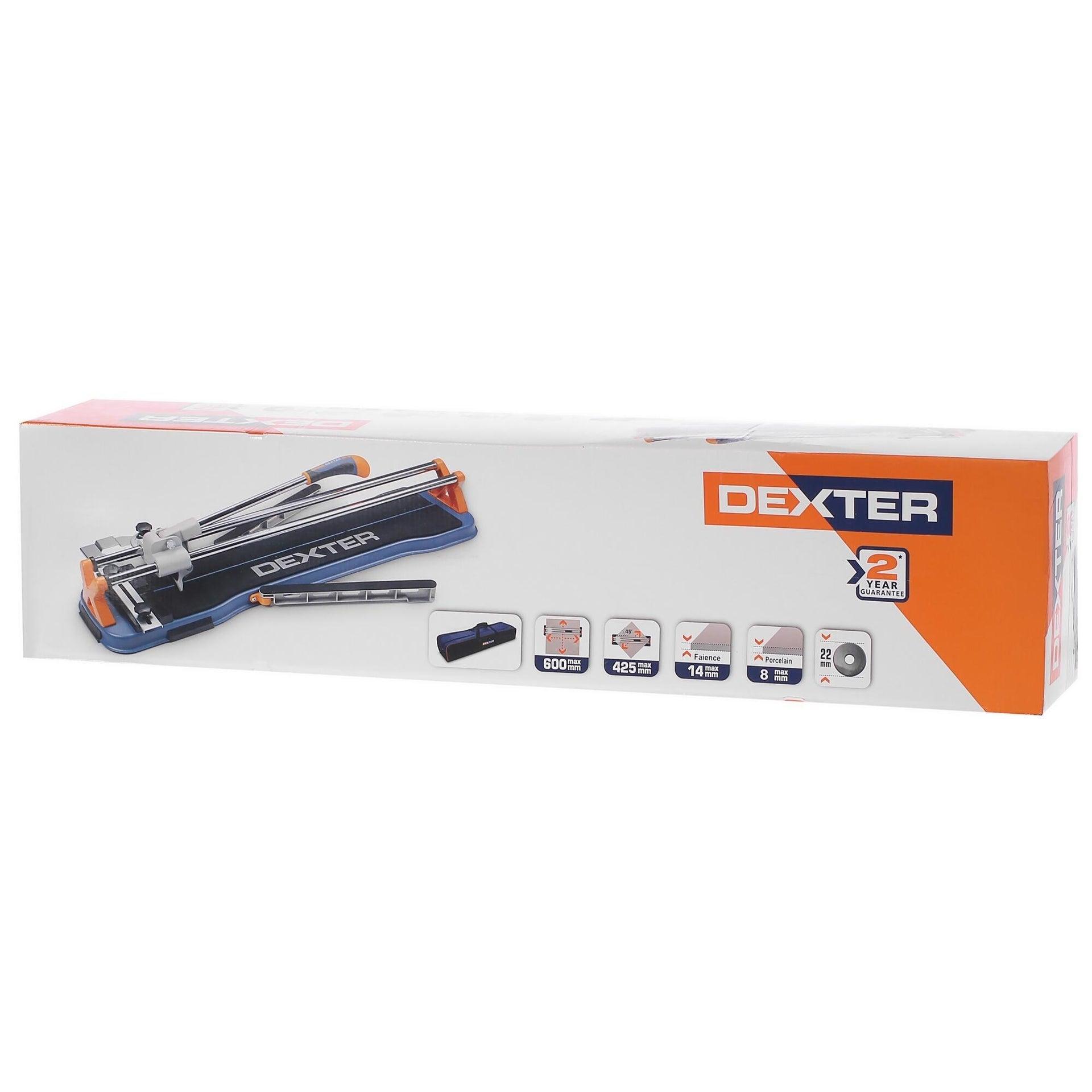 Tagliapiastrelle manuale DEXTER , lunghezza max taglio 600 mm - 2