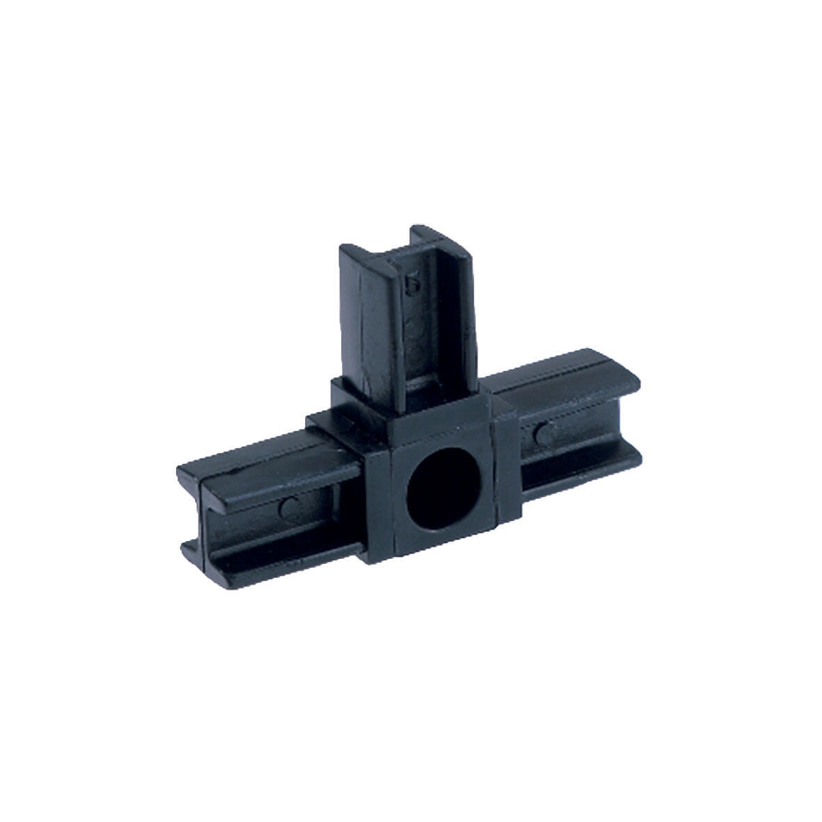 Raccordo T in pvc nero x 20 mm, - 2