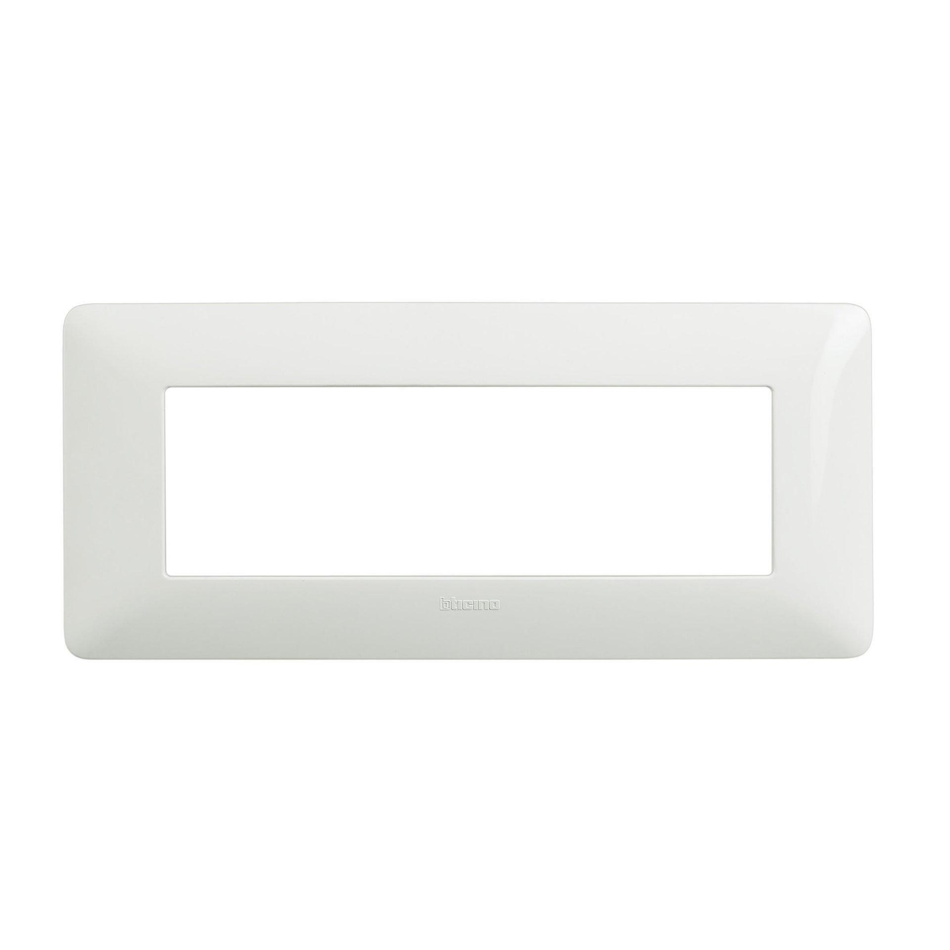 Placca Matix BTICINO 6 moduli bianco - 1
