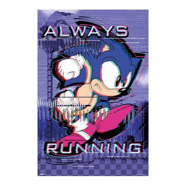 Poster Allways running 61x91.5 cm - 1