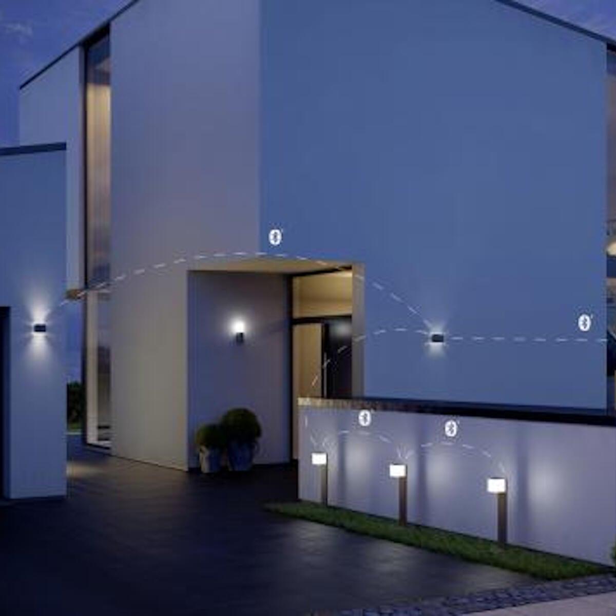 Applique L 835 LED integrato con sensore di movimento, grigio, 9.5W 586LM IP44 STEINEL - 7