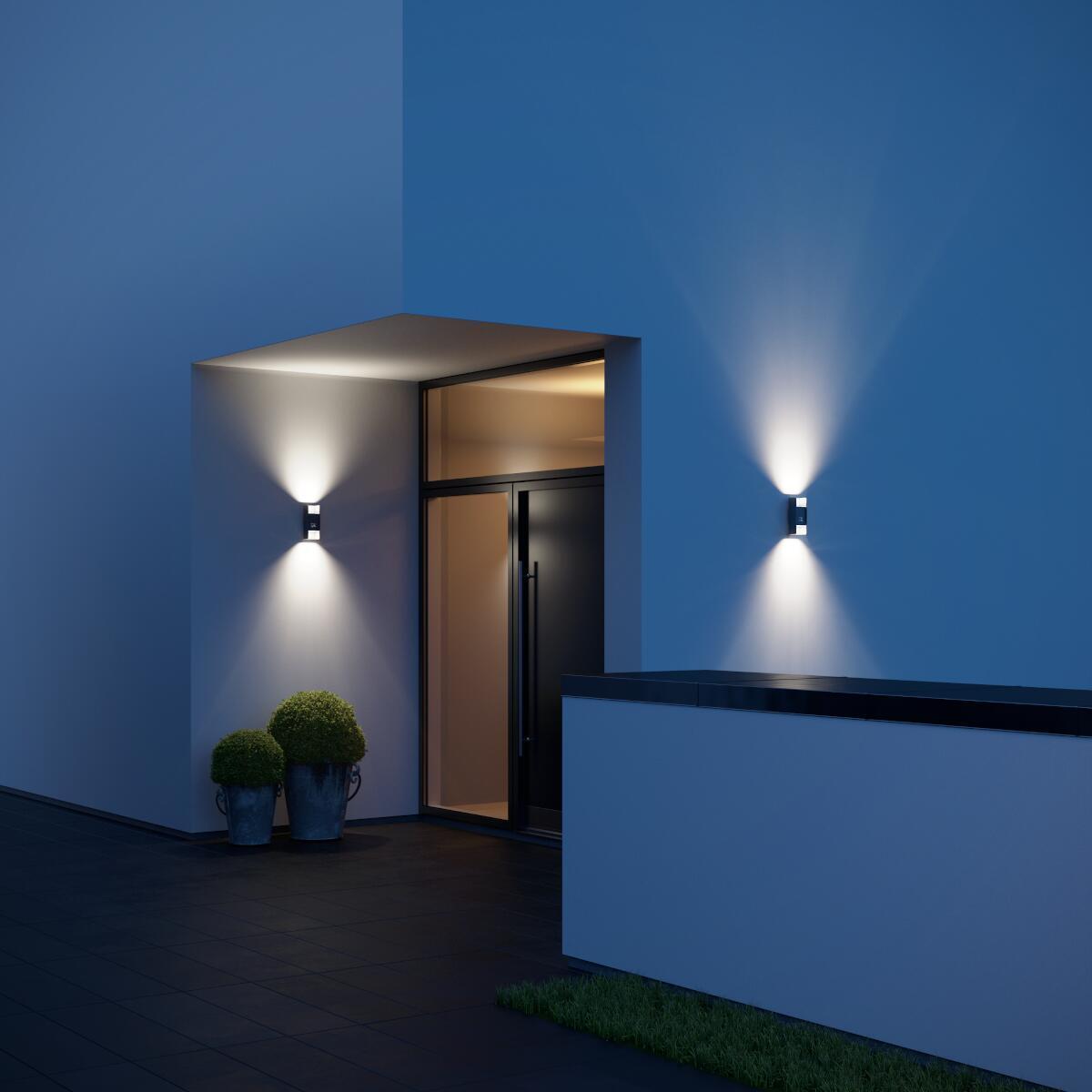Applique L 920 LED integrato con sensore di movimento, antracite, 10W 516LM IP44 STEINEL - 3