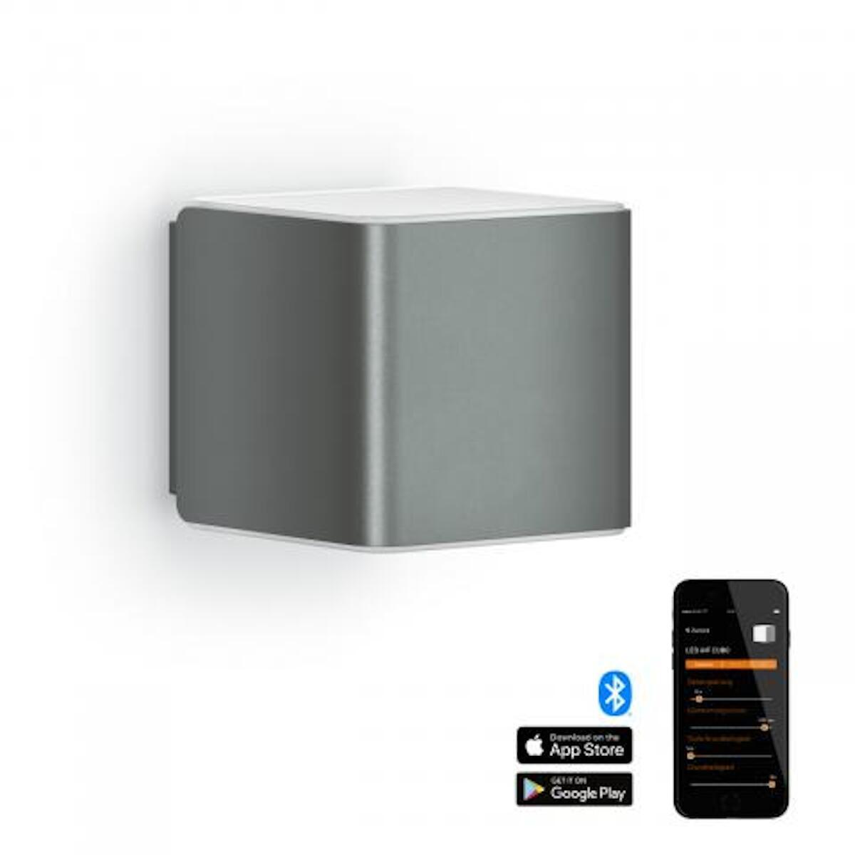 Applique L 840 LED integrato con sensore di movimento, grigio, 9.5W 305LM IP44 STEINEL - 5