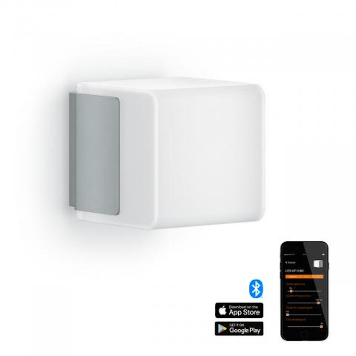 Applique L 835 LED integrato con sensore di movimento, grigio, 9.5W 586LM IP44 STEINEL - 8
