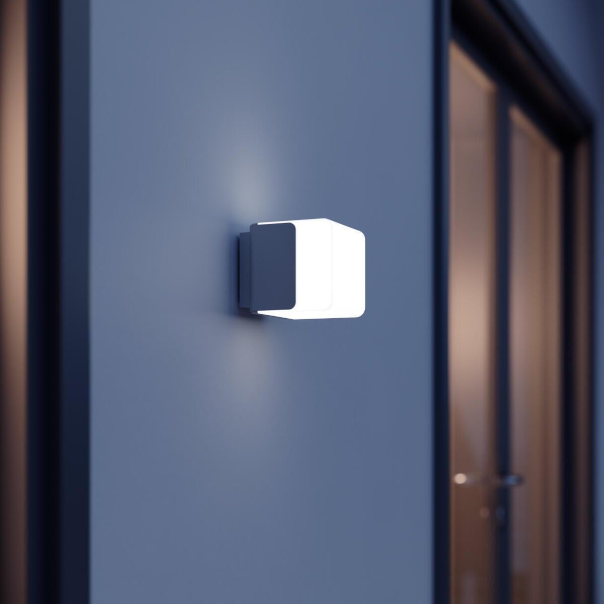 Applique L 835 LED integrato con sensore di movimento, grigio, 9.5W 586LM IP44 STEINEL - 4