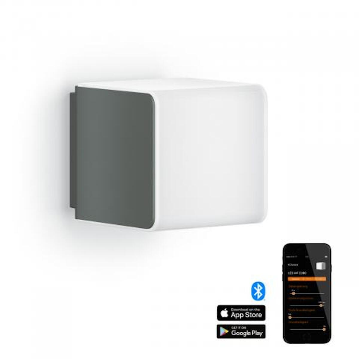 Applique L 830 LED integrato con sensore di movimento, grigio, 9.5W 502LM IP44 STEINEL - 4