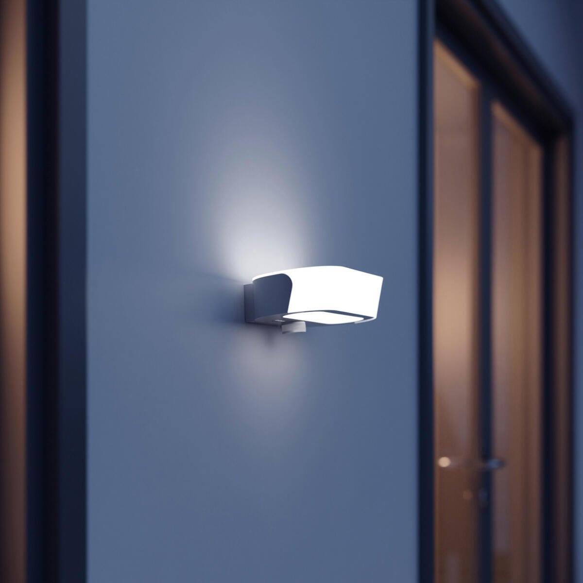 Applique L 710 LED integrato con sensore di movimento, antracite, 8.6W 670LM IP54 STEINEL - 2