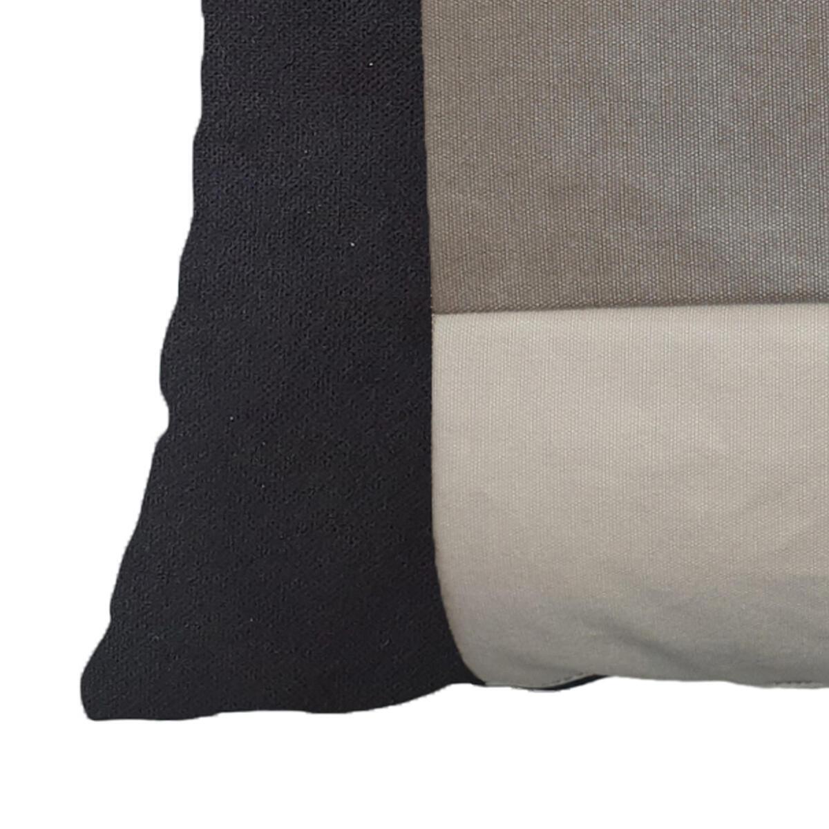 Cuscino Patch grigio 50x50 cm - 2