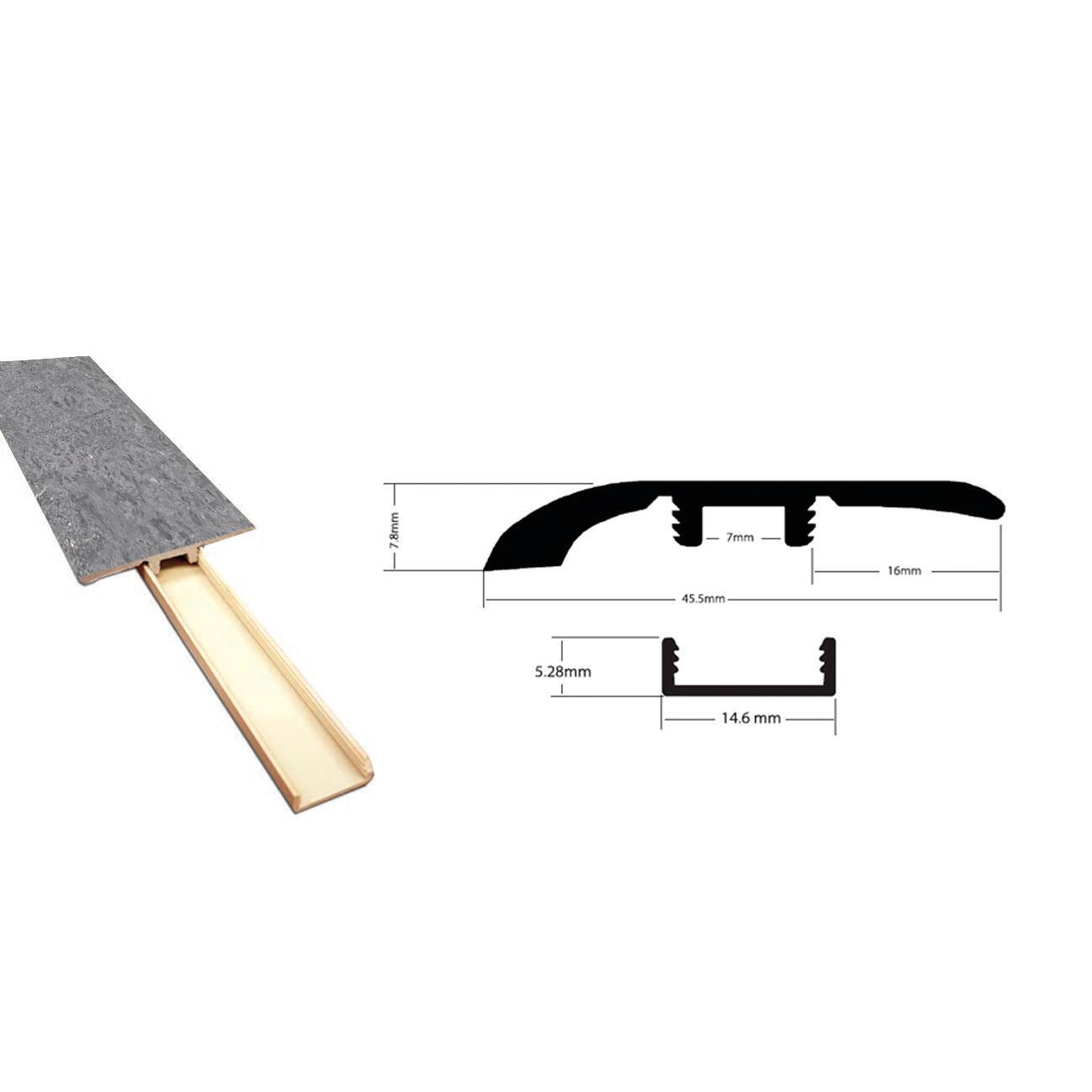 Profilo soglia 45.5 mm x 240 cm - 2