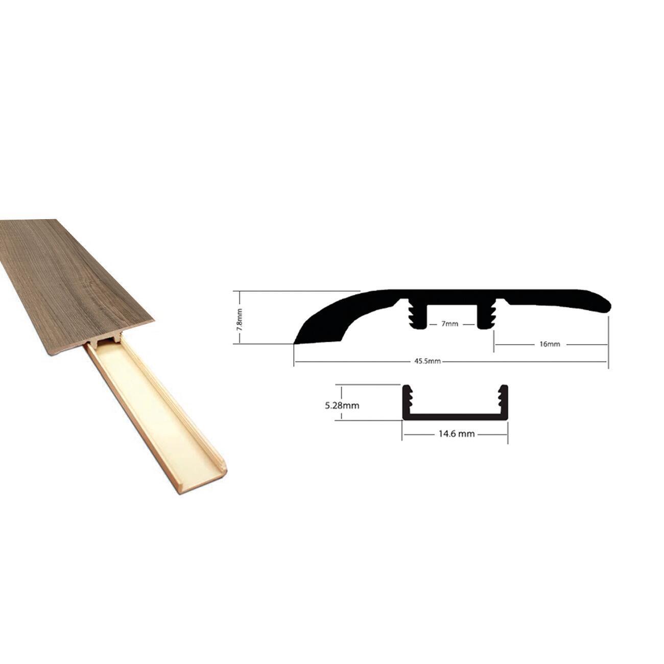 Profilo soglia 45.5 mm x 240 cm - 3