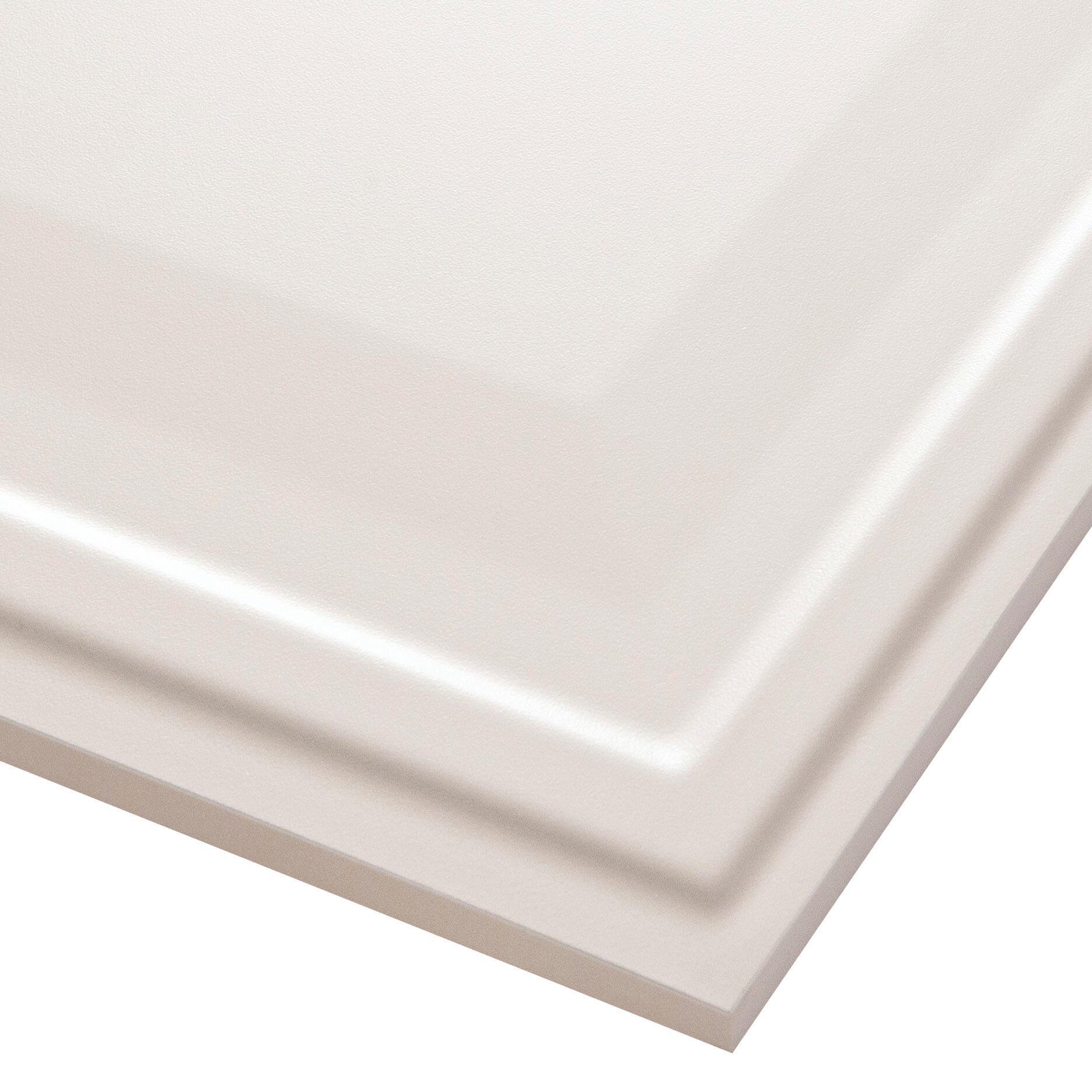 Piastrella per rivestimenti New Classic 30 x 56 cm sp. 10 mm bianco - 3