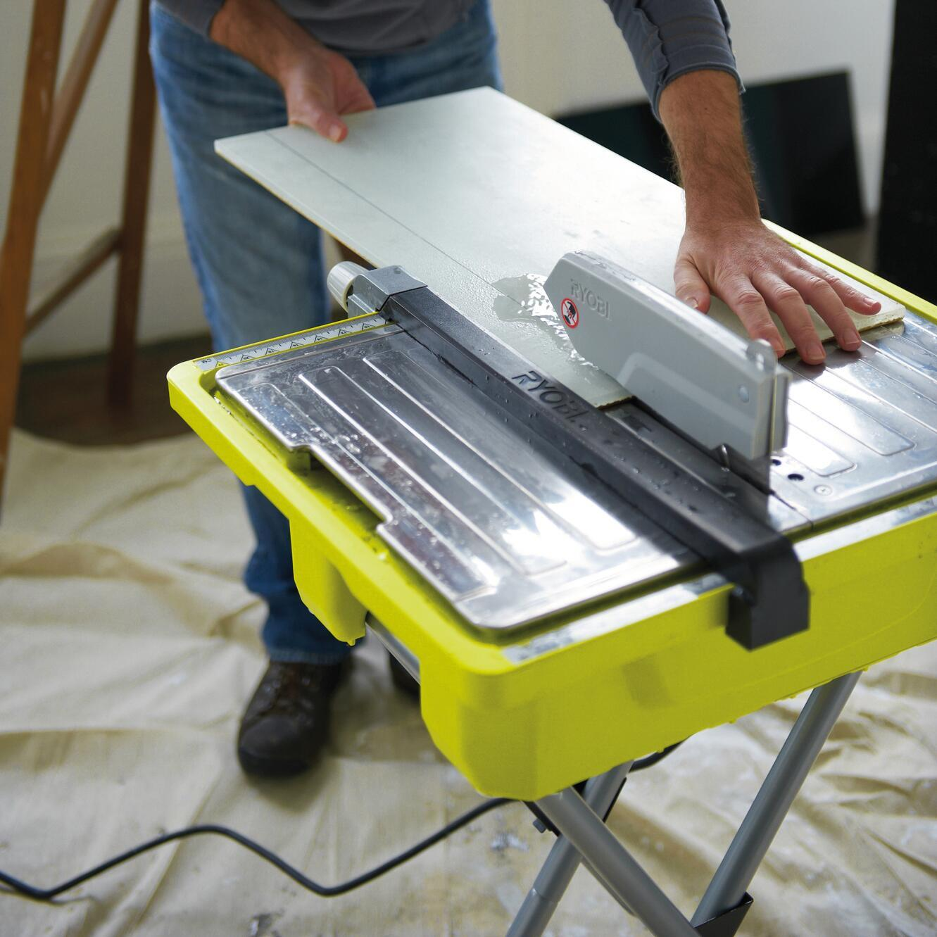 Tagliapiastrelle elettrica RYOBI Ø disco 178 mm, H taglio 33 mm, 500 W - 5