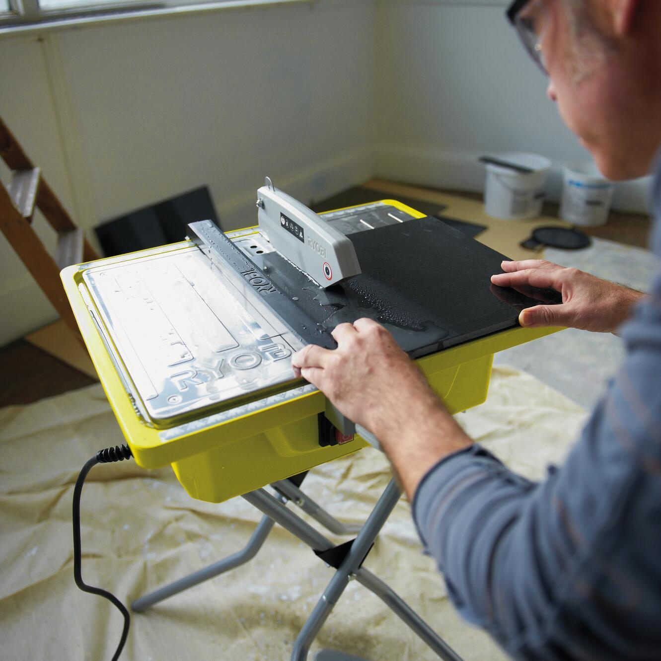 Tagliapiastrelle elettrica RYOBI Ø disco 178 mm, H taglio 33 mm, 500 W - 3