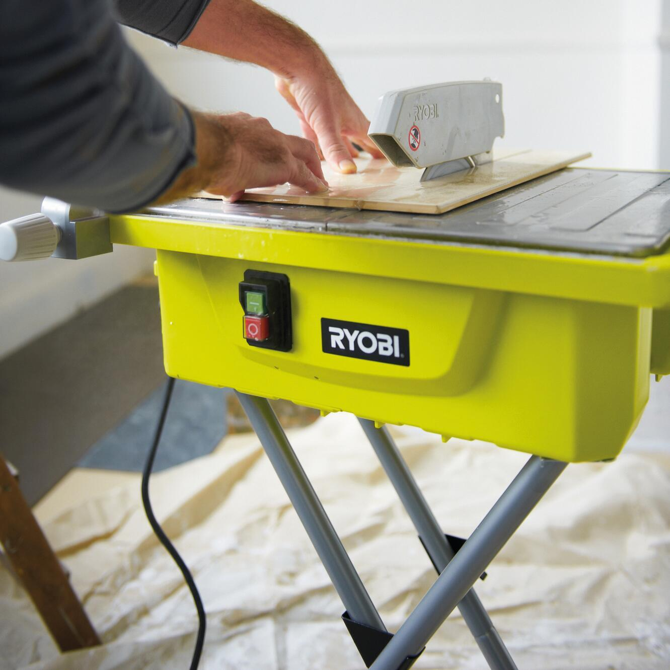 Tagliapiastrelle elettrica RYOBI Ø disco 178 mm, H taglio 33 mm, 500 W - 4