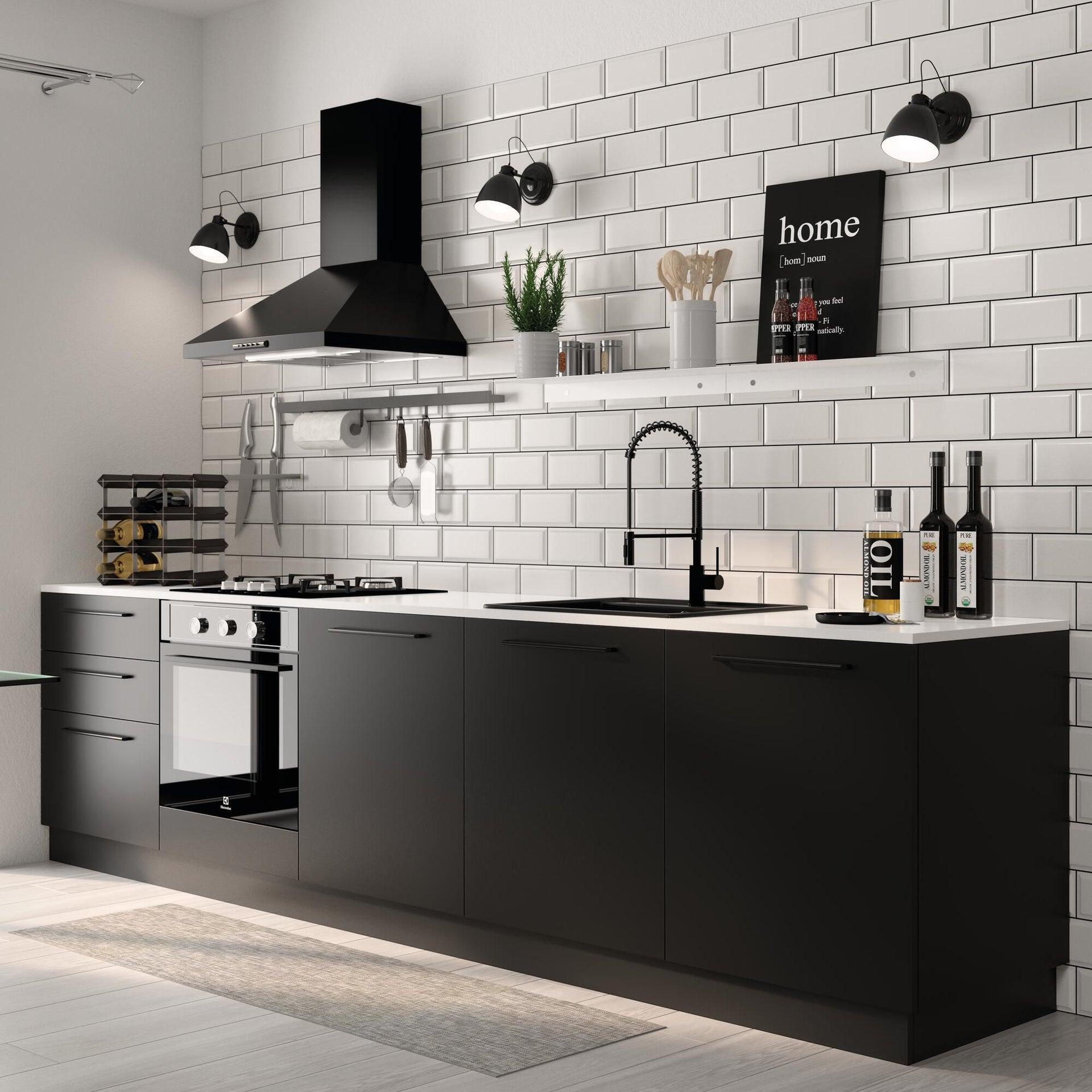 Miscelatore da cucina Thomas verniciato nero, DELINIA - 6