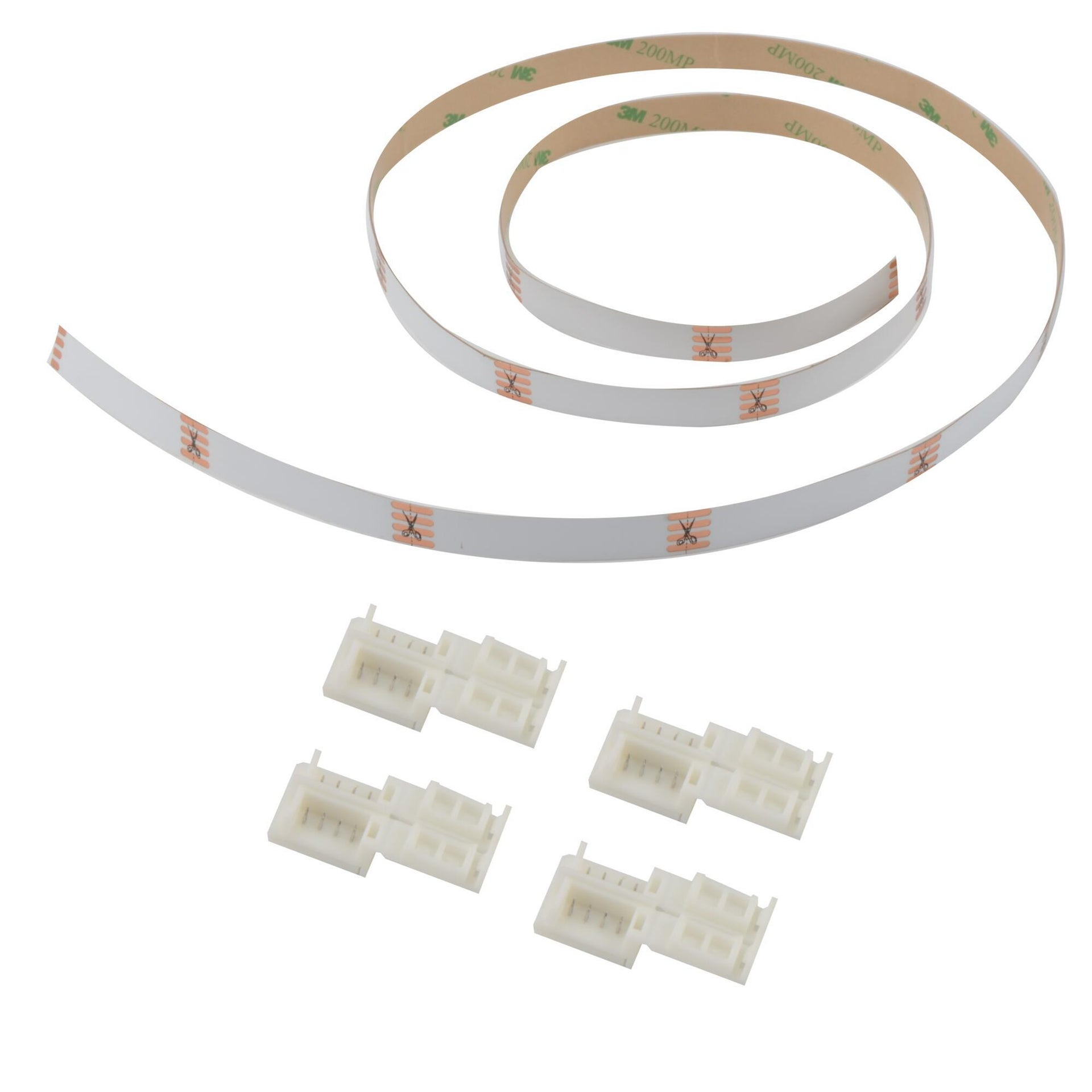 Connettore led strip, bianco, 1 m - 2