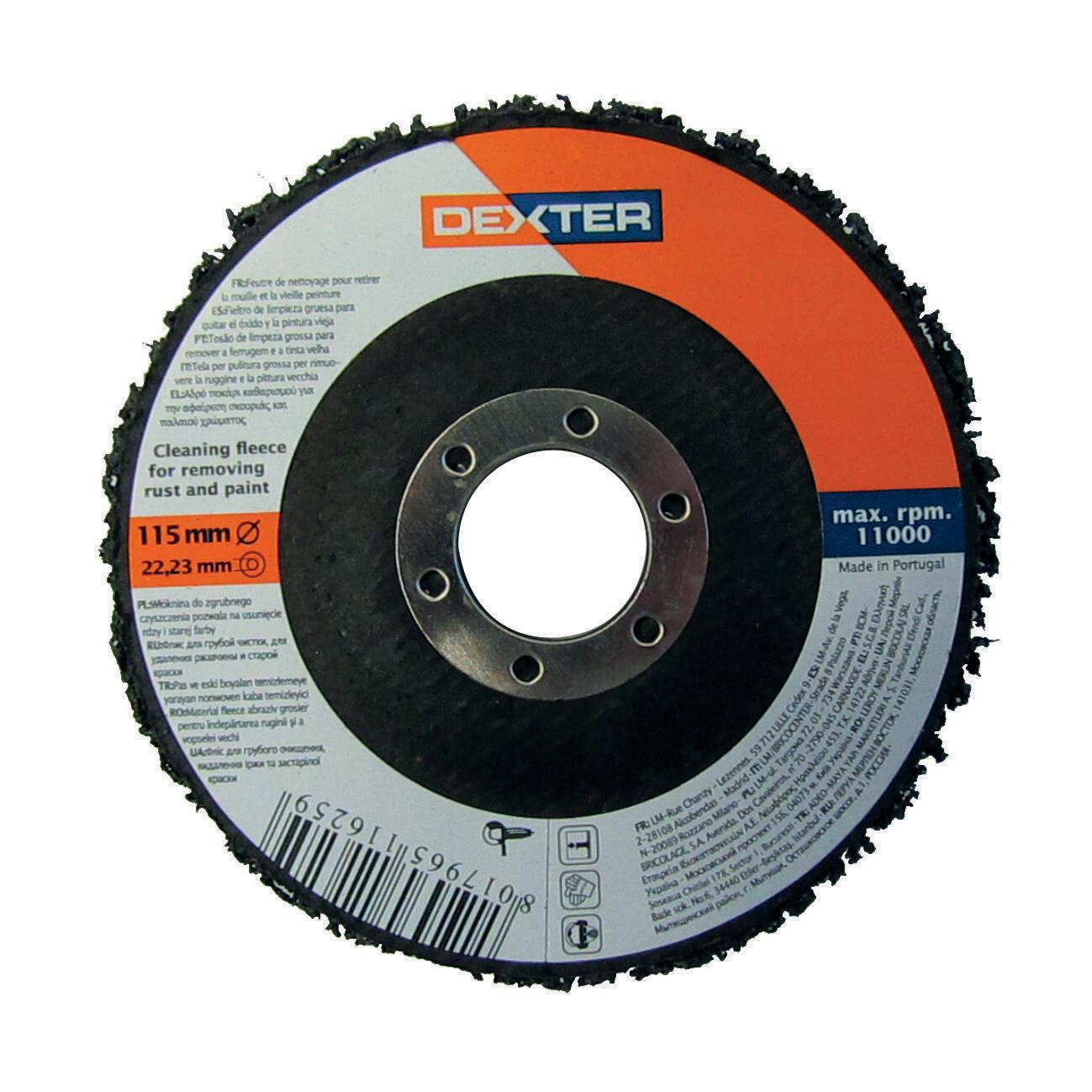 Disco lamellare DEXTER grv Ø 115 mm grana Assortita - 2