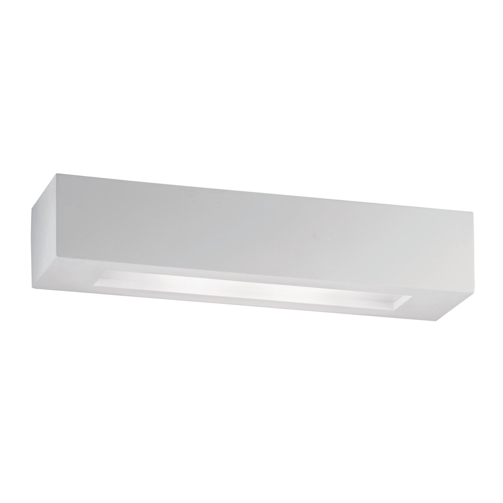Applique design Candida bianco, in gesso, 36 cm, 2 luci INTEC - 3