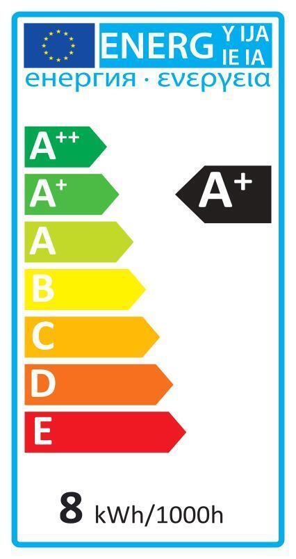 Lampadina LED, GU10, Faretto, Smerigliato, Luce calda, 6W=450LM (equiv 50 W), 100° , LEXMAN - 5