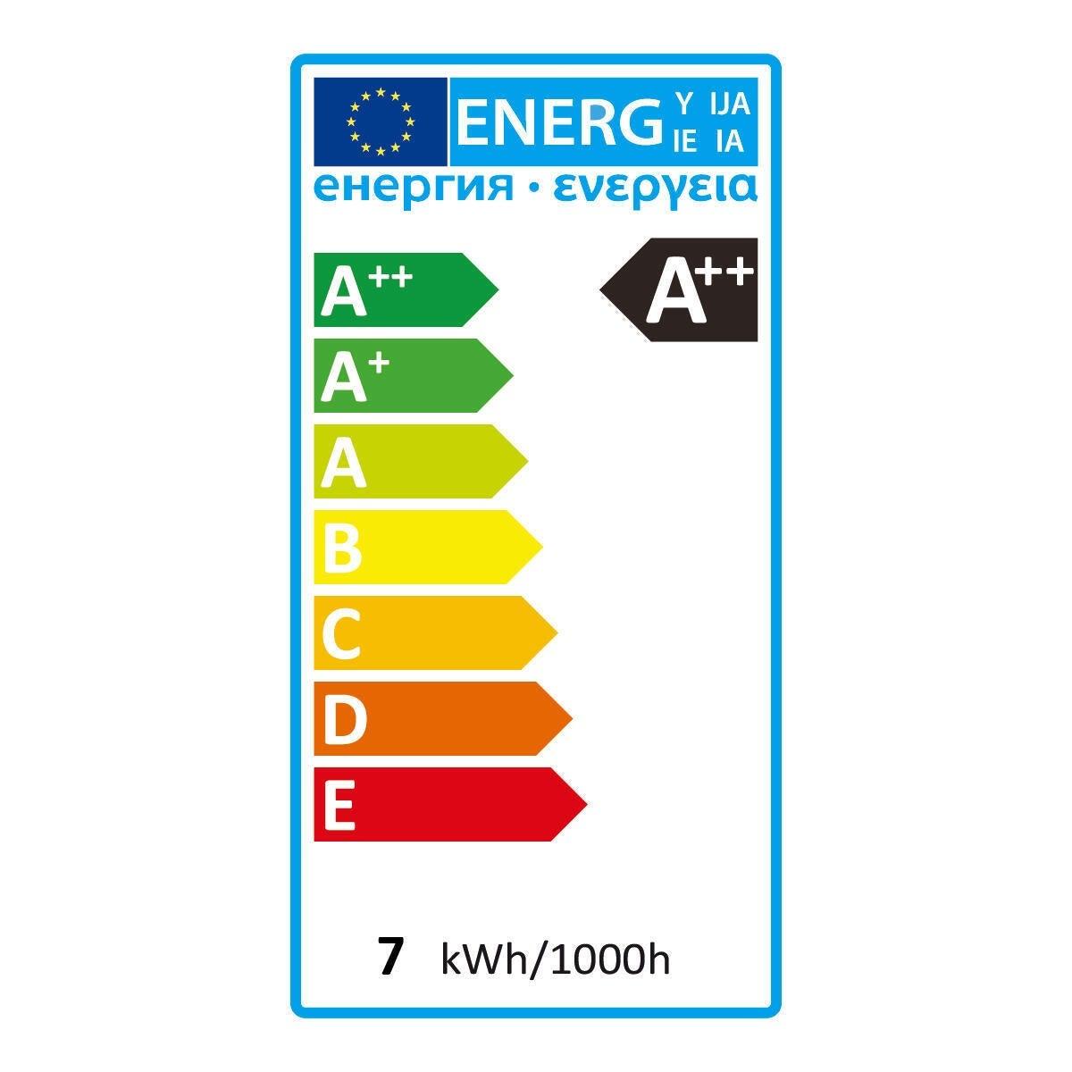 Lampadina LED filamento, E27, Goccia, Trasparente, Luce calda, 6W=806LM (equiv 60 W), 360° , LEXMAN - 12