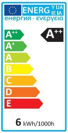 Lampadina LED, GU10, Faretto, Trasparente, Luce calda, 5.2W=345LM (equiv 50 W), 100° , LEXMAN - 7