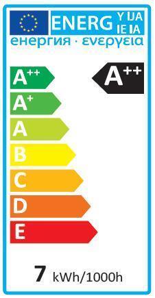 Lampadina LED, GU10, Faretto, Trasparente, Luce naturale, 6W=600LM (equiv 60 W), 100° , LEXMAN - 6