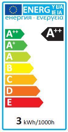 Lampadina LED, E14, Tubo, Trasparente, Luce calda, 2.5W=250LM (equiv 25 W), 360° , LEXMAN - 2