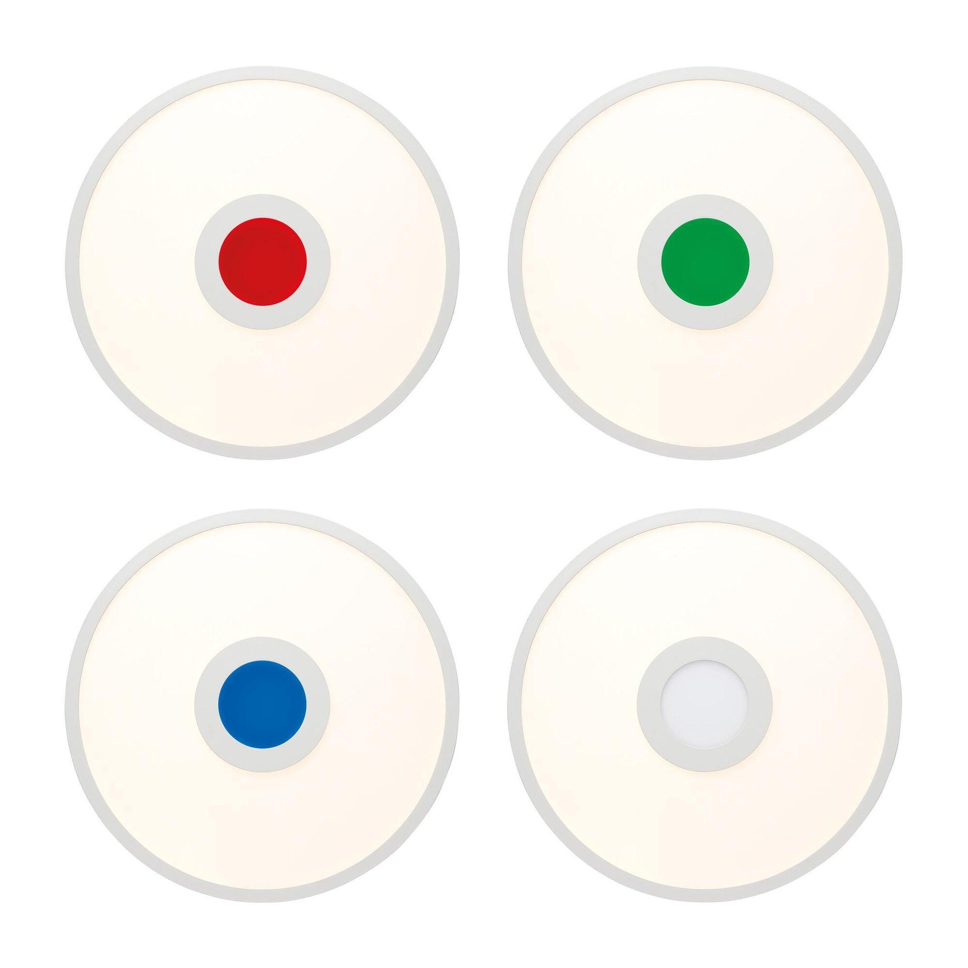 Pannello led Odella Ø 35 cm, cct regolazione da bianco caldo a bianco freddo, 2140LM - 4